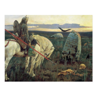 A Knight at the Crossroads Post Card