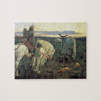 A Knight at the Crossroads Jigsaw Puzzle