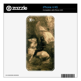 A Knight, c.1885 Decals For iPhone 4S