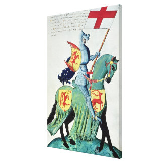 A Knight Carrying the Arms of Verona Gallery Wrap Canvas