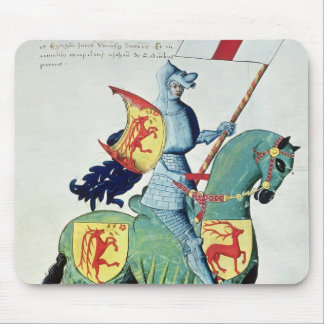 A Knight Carrying the Arms of Verona Mouse Pad