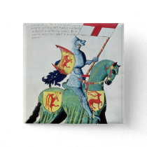 A Knight Carrying the Arms of Verona Pinback Button