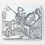 A Knight, from Caxton's 'Game of the Chess' Mouse Pad