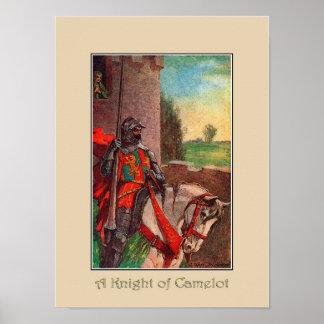 A Knight of Camelot Art Print