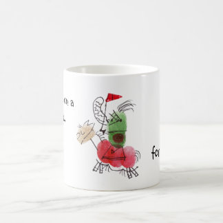 A Knight on a Quest... for Coffee! Classic White Coffee Mug