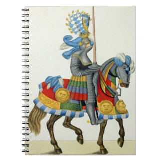 A knight on his way to a tournament, plate from 'A Notebook