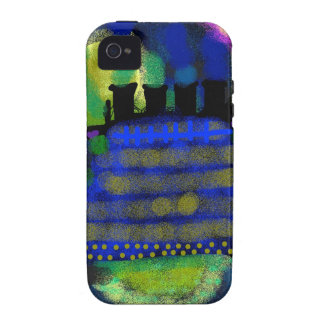 A Knightly Night.jpg iPhone 4 Cases