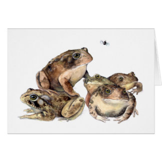 A Knot of Toads Stationery Note Card