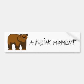 A Kodiak Moment bumper sticker