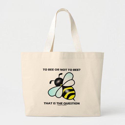 ¿A la abeja o no a la abeja? Ésa es la pregunta (l Bolsa