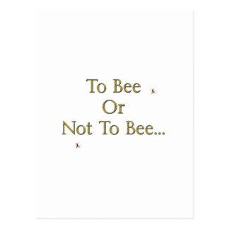 A la abeja postal