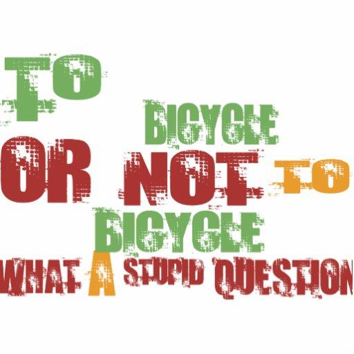 A la bicicleta adorno fotoescultura