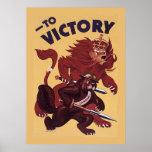 A la campaña de propaganda de la guerra del ~ de C Impresiones