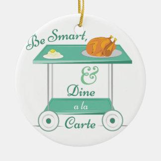 A La Carte Ceramic Ornament