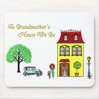 A la casa de las abuelas vamos alfombrilla de ratón