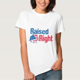 A la derecha criado - republicano camisas
