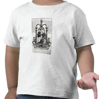 A la gloria de la derecha camiseta