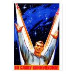 A la gloria del comunismo tarjetas postales
