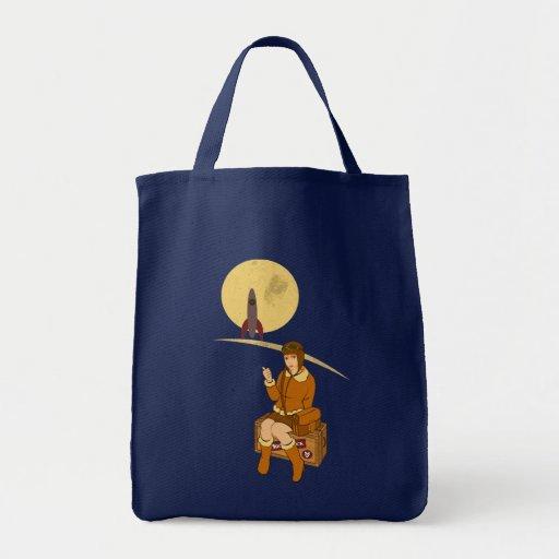 A la luna bolsa