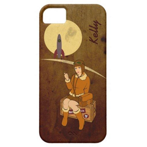 A la luna iPhone 5 carcasa