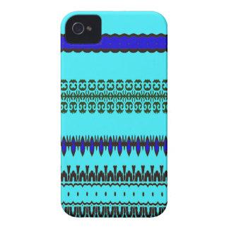 A la mode Blue iPhone 4 Cover