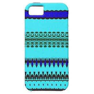 A la mode Blue iPhone 5 Cases