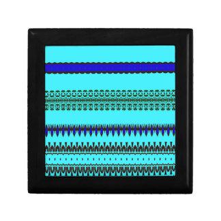 A la mode Blue Gift Box
