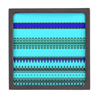 A la mode Blue Jewelry Box