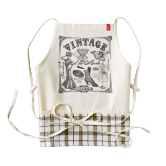 A la Mode Zazzle HEART Apron