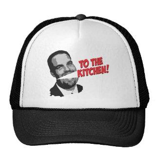 ¡A la mujer de la cocina! Gorras