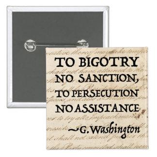 A la persecución ninguna ayuda pin cuadrado