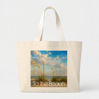 A la playa bolsa tela grande