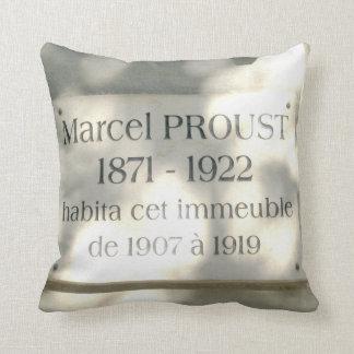 A la recherche de Marcel Proust and his friends. Throw Pillow