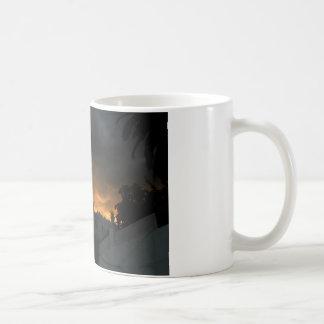A la sombra del ocaso taza