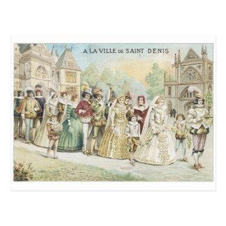 A La Ville de St Denis Post Card