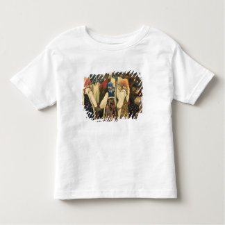 A lad has wormed his way toddler t-shirt