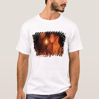 A Lady Admiring An Earring by Candlelight T-Shirt