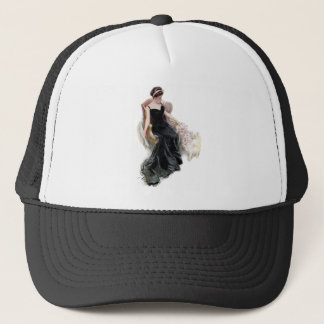 A Lady and Her Cats Trucker Hat
