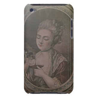 A Lady Drinking Chocolate (colour litho) iPod Touch Case