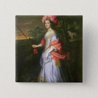 A Lady in Masquerade Costume, c.1679 Button