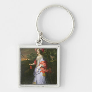 A Lady in Masquerade Costume, c.1679 Keychain