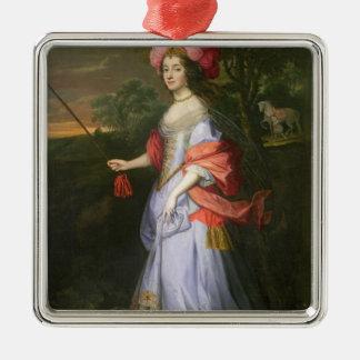 A Lady in Masquerade Costume, c.1679 Metal Ornament