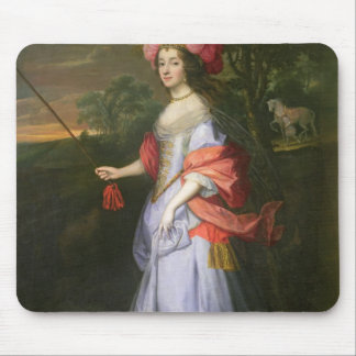 A Lady in Masquerade Costume, c.1679 Mouse Pad