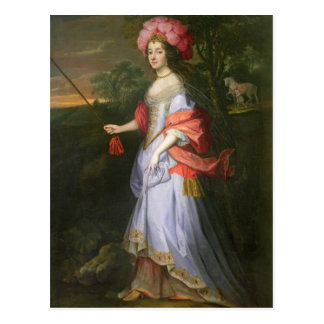A Lady in Masquerade Costume, c.1679 Postcard