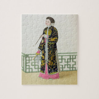 A Lady of Distinction in her Habit of Ceremony, pl Jigsaw Puzzle