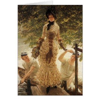 A Lady on the Thames Card