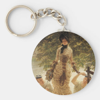 A Lady on the Thames Keychain