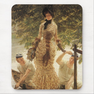 A Lady on the Thames Mouse Pad