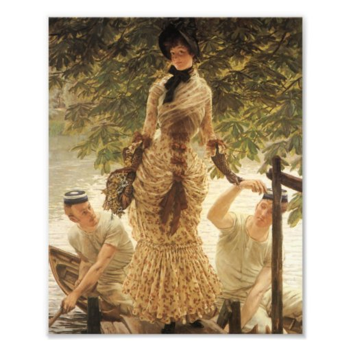 A Lady on the Thames Photographic Print