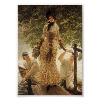 A Lady on the Thames Poster